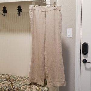 AT Loft beige linen Marisa styled size 10